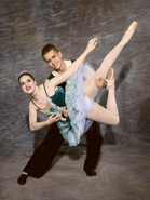Ballerina with Danseur